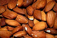 ALMONDS ROASTED  UNSALTED, 2 LBS -  ( premium quality )A PERFECT HEALTHY SNACK -