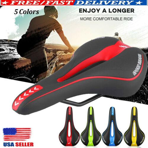 Soft Gel Bike Mountain Bicycle Seat Road Sports Cycling Saddle Cushion Padded US