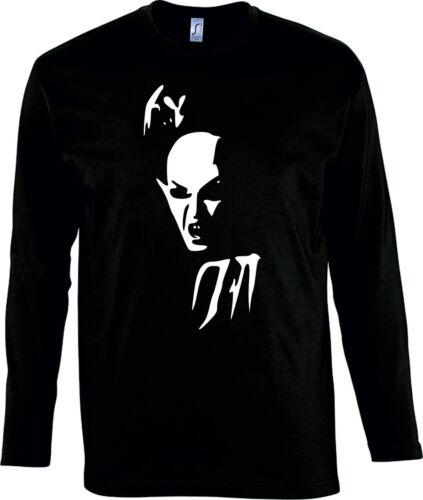 Nosferatu Long Sleeved Top - Goth, Vampire, Halloween, Various Colours/Sizes