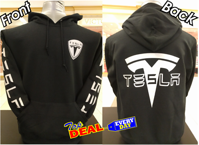 TESLA Hoodie Tesla Motors Electric Car MODEL 3 MODEL S ADULT Size S-2XL Hoodie