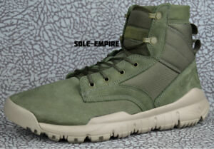 Nike-SFB-6-034-NSW-Leather-862507-300-Cargo-Khaki-Army-Olive-Men-039-s-Boots-NEW-IN-BOX