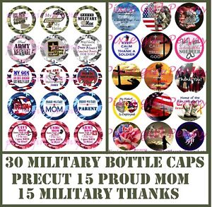 Pre Cut One Inch Bottle Cap Images Louisville Cardinals  Free Shipping