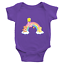 thumbnail 7 - Care-Bears-Rainbow-Friends-Kawaii-Cute-Infant-Baby-Rib-Bodysuit-Clothes-Babysuit