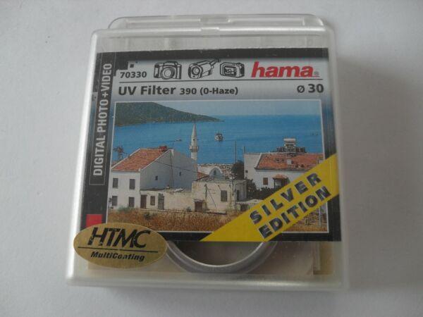 +++ Neuf +++ 30 Mm Hama Filtres Uv (uv 390), Htmc Silver Edition, Neuf Dans Sa Boîte, 30 Mm +++ Neuf +++ Renforcement Des Nerfs Et Des Os