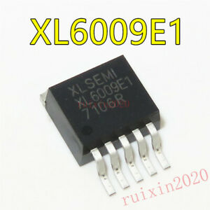 1PCS XL6009E1 DC-DC Adjustable Step-up Boost IC TO-263 42V//4A//400KHz NEW