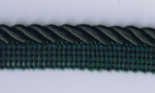 "100 Yard Spool of 3//4/"" Forest Green Cording with Lip 99523-18    $0.25 Per YARD"