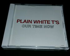 PLAIN WHITE T'S Our Time Now REPEATS 3 TIMES Call Out Hook PROMO DJ CD Single