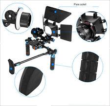 Système Rig follow focus pour vidéo kit complet pour Canon Nikon Sony BMCC Fuji