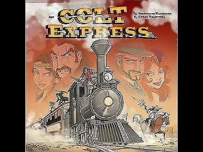 Colt Express Board Game Promo Mini Expansion Goodie Ludonaute Playmat New Unused