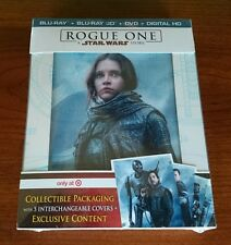 ROGUE ONE A STAR WARS STORY 3D BLU RAY DVD DIGITAL TARGET EXCLUSIVE BRAND NEW