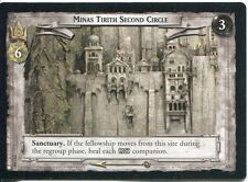 Lord Of The Rings CCG Card RotK 7.U349 Minas Tirith Second Circle