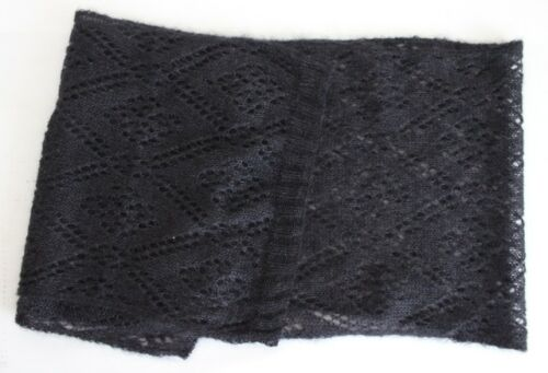 SCIARPA Lusso Sciarpa aojur Seta Mohair 47 x 210 CM NUOVO