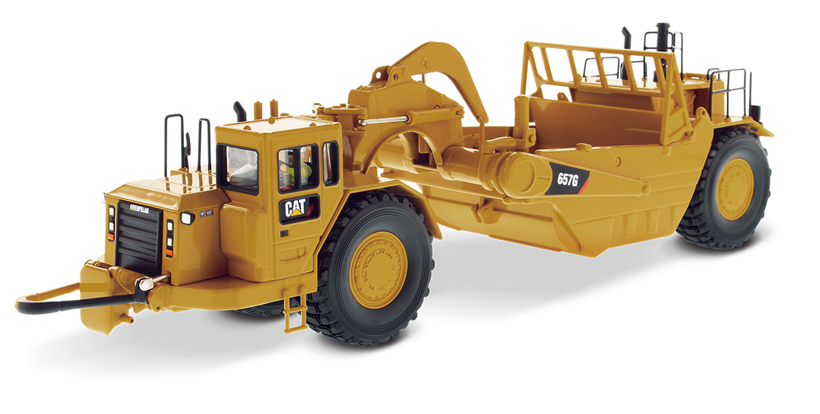 1 50 DM Caterpillar Cat 657G Wheel Tractor Scraper Diecast Model  85175C