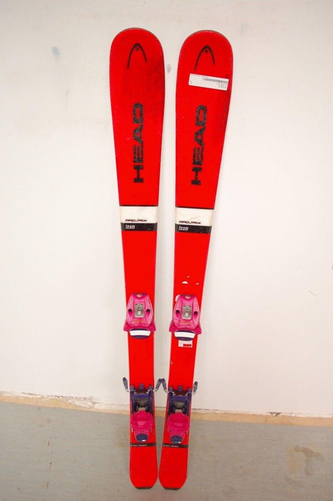 HEAD Mad Trix Trix Trix 127 cm Ski + Tyrolia 6 Bindings a90582