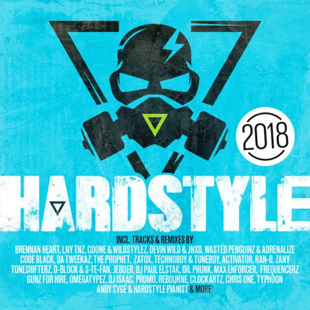 CD Hardstyle 2018 von Various Artists 2CDs