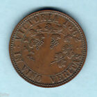 Australia Token. Stokes - 1862 Penny.. Melbourne Vic.. Arms & Vine .. gVF