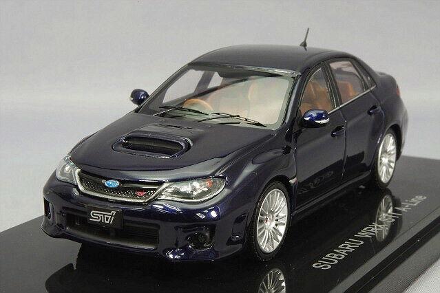 Ebbro 1 43 Nissan Impreza WRX STI 4 door A-Line bluee from Japan