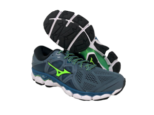 Mizuno-Men-039-s-Wave-Sky-2-Running-Shoe-Mirage-Evening-Blue-11-D-M-US