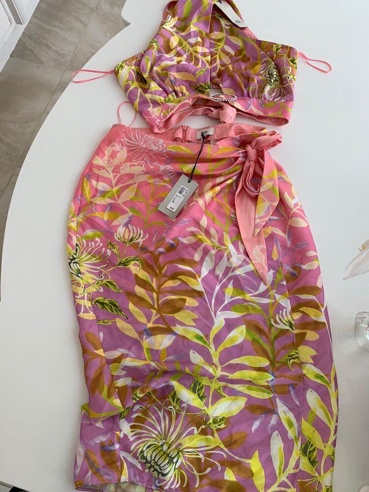 River Island Haut Femme Summer Set Taille 8 Neuf