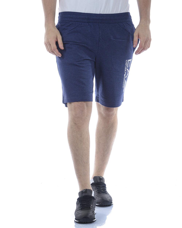 Emporio Armani EA7 Hombre Corto de Algodón Azul 3ZPS73PJ05Z  3502 Sz M hacer oferta  ahorra hasta un 70%