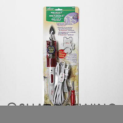 """CLOVER MINI IRON II 9100 """"THE ADAPTER"""" SMALL TIP, STAND, SCREWDRIVER AC 120V 40W"""