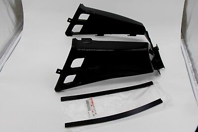grill 1987-2006 BLACK NEW Vito/'s Yamaha Banshee plastic gas tank side covers