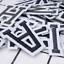 Patch-Toppa-Alfabeto-Lettere-Alphabet-Personalizzate-Ricamata-Termoadesiva-5cm Indexbild 3