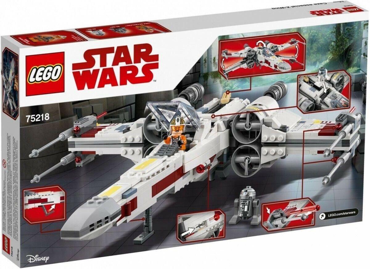 Lego Star Wars 75218 X-Wing Starfighter Nuevo Y En Caja Perfecto Estado