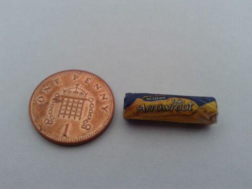 Scala 1//12-pacchetto di radici di arrowroot biscotti per Dollshouse Miniatures