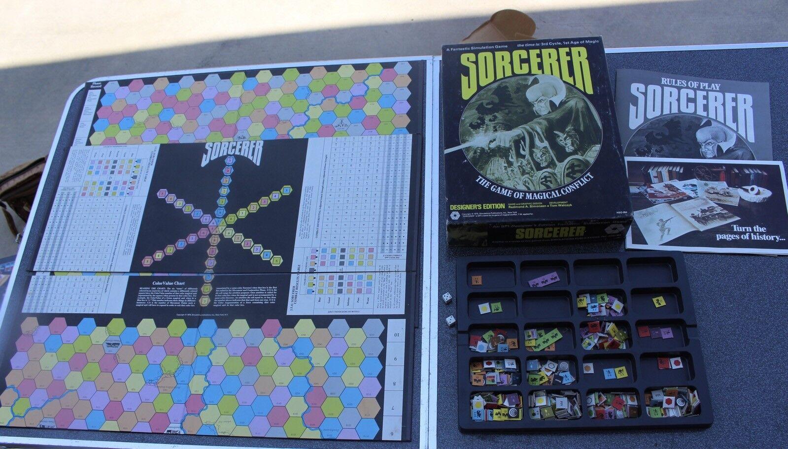 Jahrgang 1975 zauberer spiel des magischen konflikt designer ausgabe brettspiel