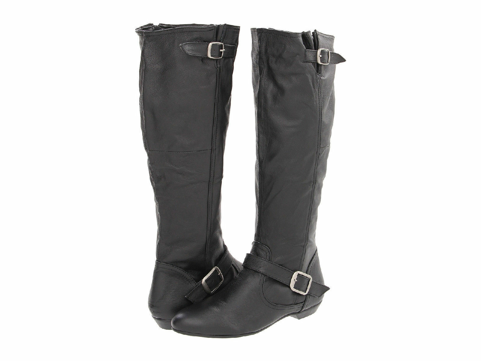 Womens Size 6 * CHINESE LAUNDRY * Black Leather New Capture Knee High Boots NEW