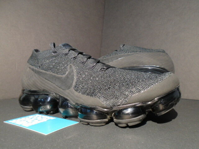 2017 BLACK NIKE AIR VAPORMAX FLYKNIT BLACK 2017 ANTHRACITE GREY OFF Weiß 849558-011 9 9171bd