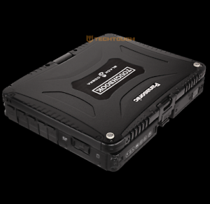Mazda Honda Toyota Nissan Mechanic Car OBD II 2 Scanner & Toughbook CF-19 laptop