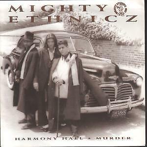 MIGHTY ETHNICZ Harmony Hall 7 INCH VINYL UK Lay Low 1990 B/W Murder Pic Sleeve