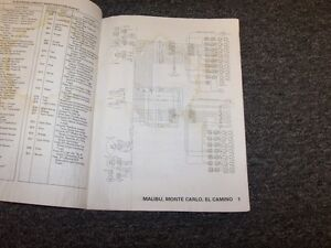 1979 Chevy Corvette Factory Electrical Wiring Diagram ...