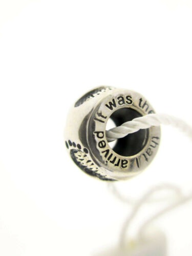 """PERSONA Sterling Silver /""""Empreintes/"""" Bead Charme H12516P1"""