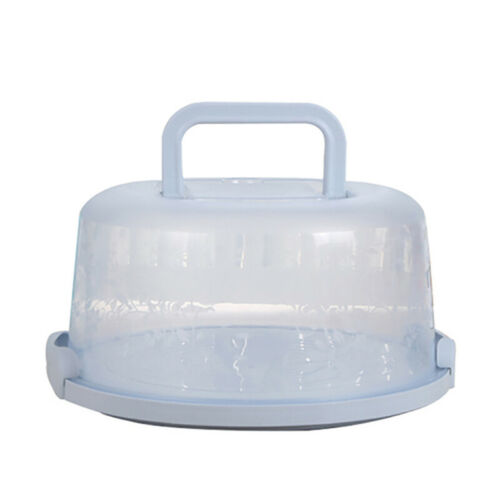 Portable Cake Cupcake Carrier Latching Cake Server Storage Box Tray Container