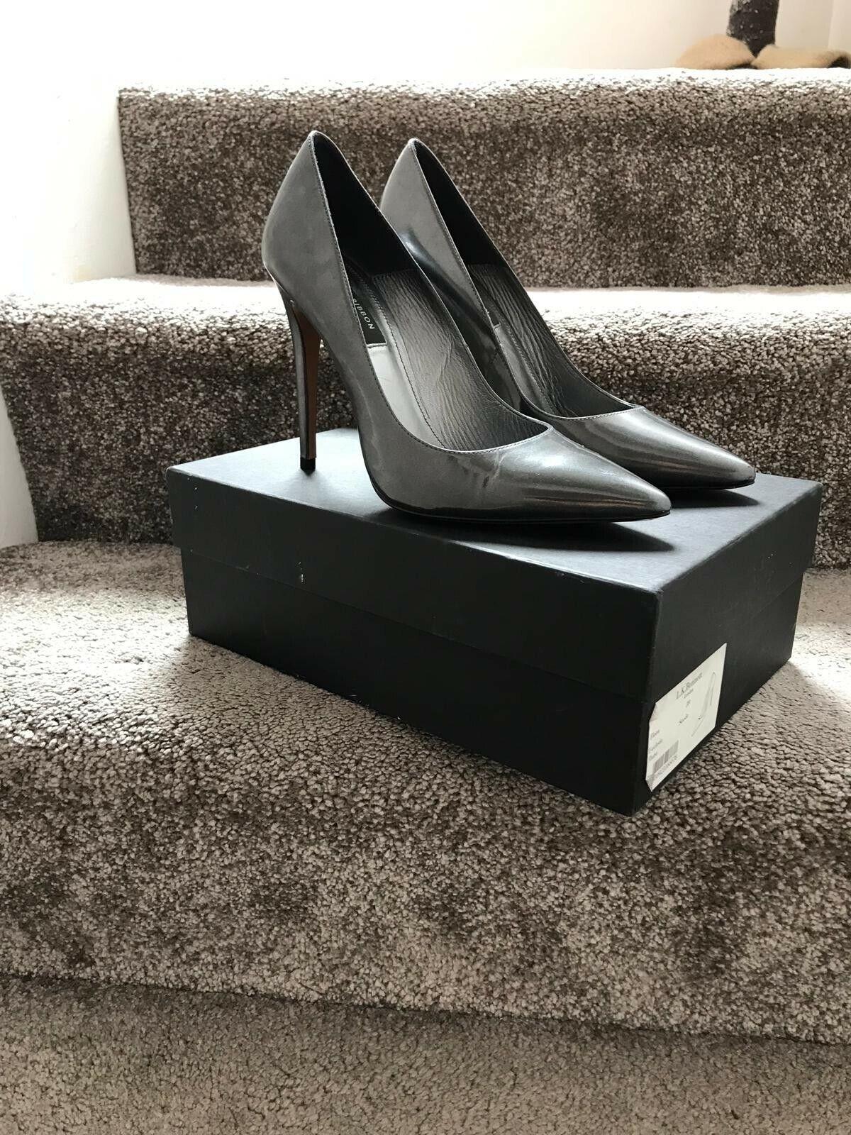 Lk Bennett Black ribbon Court shoes size 40