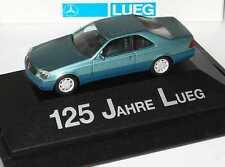 1:87 Mercedes-Benz S 600 Coupé W140 beryll grün - 125 Jahre Lueg - herpa
