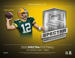 2020-Panini-Spectra-FOOTBALL-cards-1-HOBBY-BOX-Break-Random-Team-1
