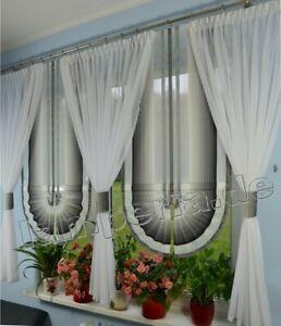 Details zu Moderne Gardinen Wohnzimmer Fensterdekoration Grau Fenster 180  -240 Nr. 552