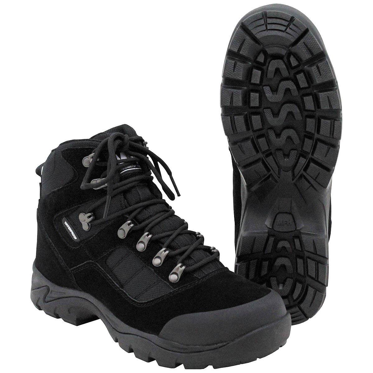 MFH Einsatzstiefel Security 39-48 Stiefel Wanderschuhe Trekkingschuhe Schuhe    | Fein Verarbeitet