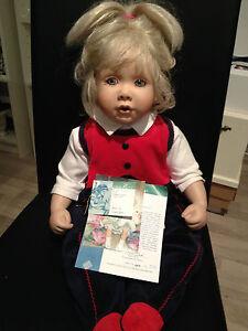 Diane Bucki Porzellan Puppe 48 Cm Dolls Top Zustand