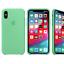 Para-Apple-iPhone-XS-Max-XR-6-7-de-8-PLUS-de-silicona-suave-cubierta-estuche-original-de-Fabricante miniatura 22