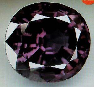 +++ BIG +++ Titanium Violetter Spinell aus Sri Lanka +++ 6.30 ct +++ rw