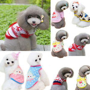 Winter Warm Dog Jacket Clothes Apparel Clothing Knitwear Sweater Puppy Costume