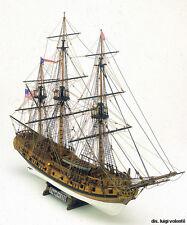 "Popular, Intricate Wooden Model Ship Kit by Mamoli: the ""Rattlesnake"""