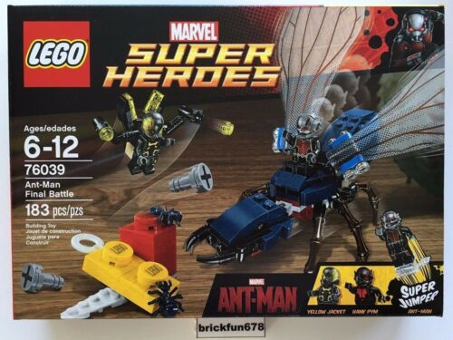 Lego Superheroes 76039 Ant-Man Final Battle set New in Factory Sealed Box