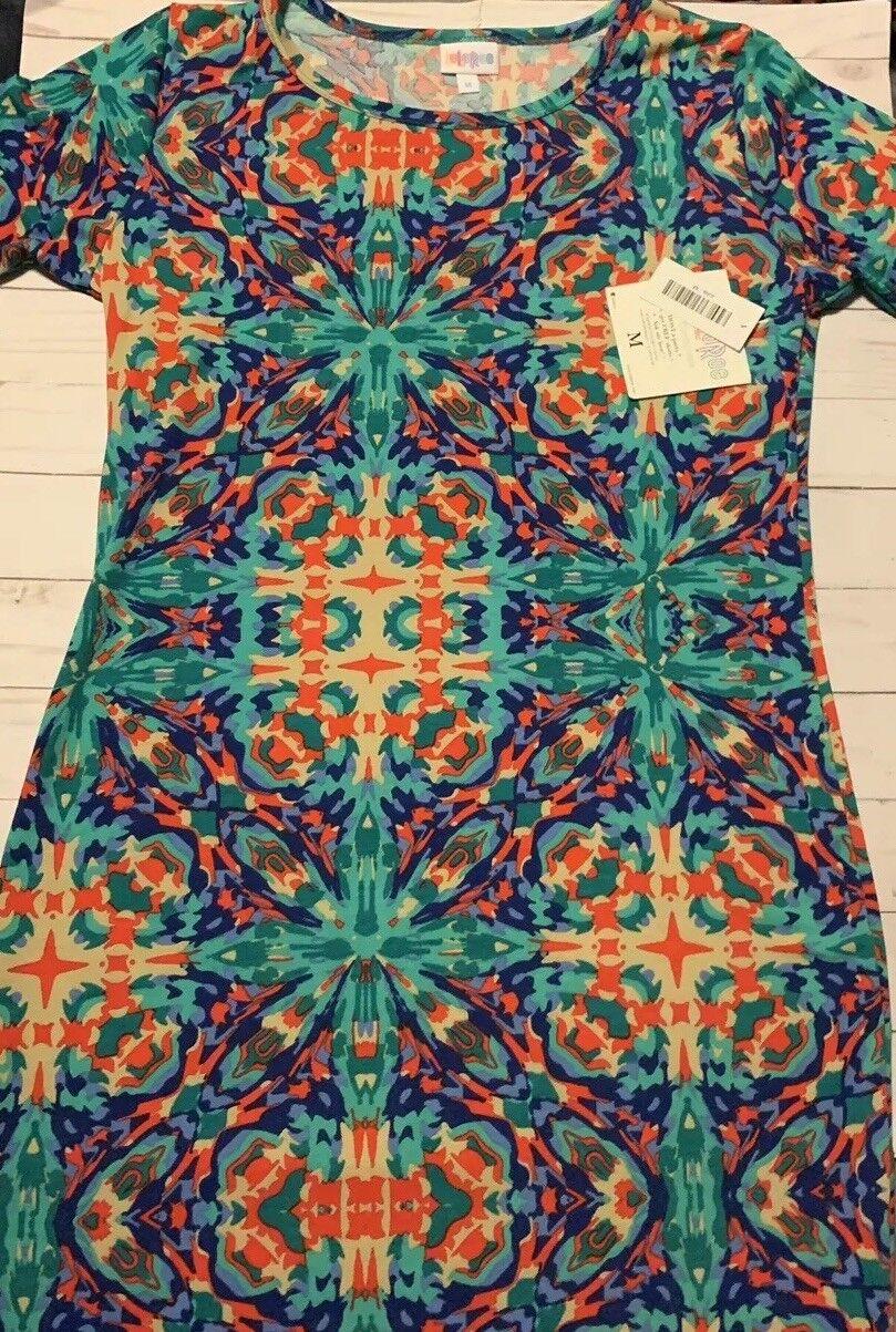 14414373a0535 ... Medium Medium Medium Vintage Lularoe Julia Gorgeous Tie Dye Print Nwt  bf77ce ...