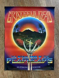 Vintage-Grateful-Dead-The-Deadheads-Book-1983-PROMO-Poster-Art-by-Kelley